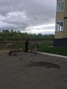 Уборка территории май-июнь 2018г.