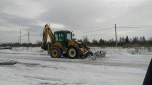 Работы по очистке снега